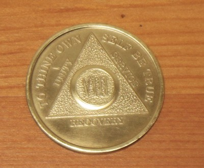 8 year Sobriety medal