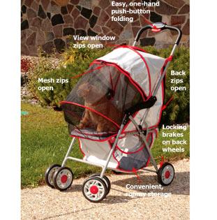 Delux Cat Stroller