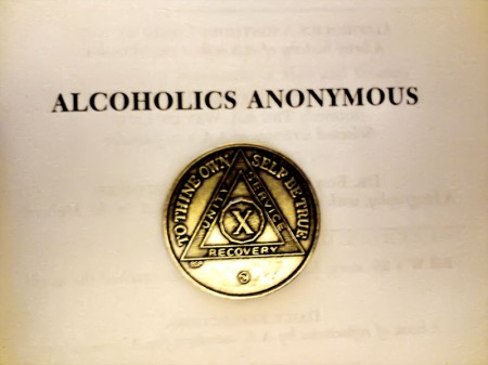 AA 10 Years Medal