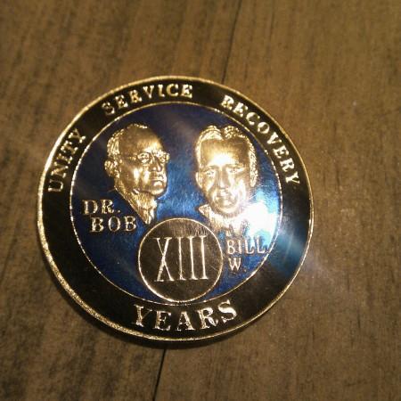 13 Year Medal