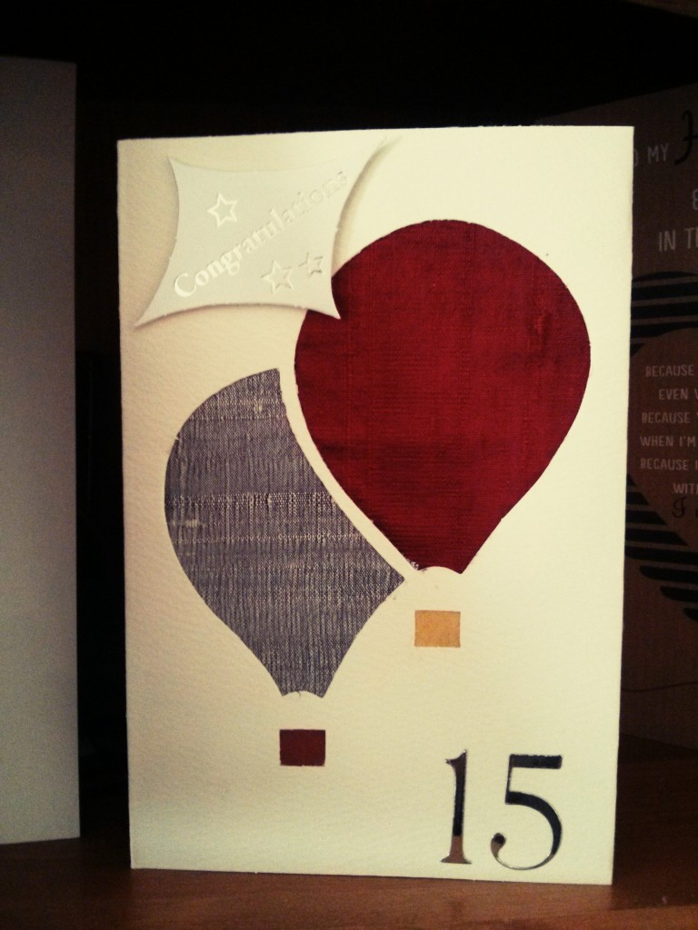 15 Birthday Card